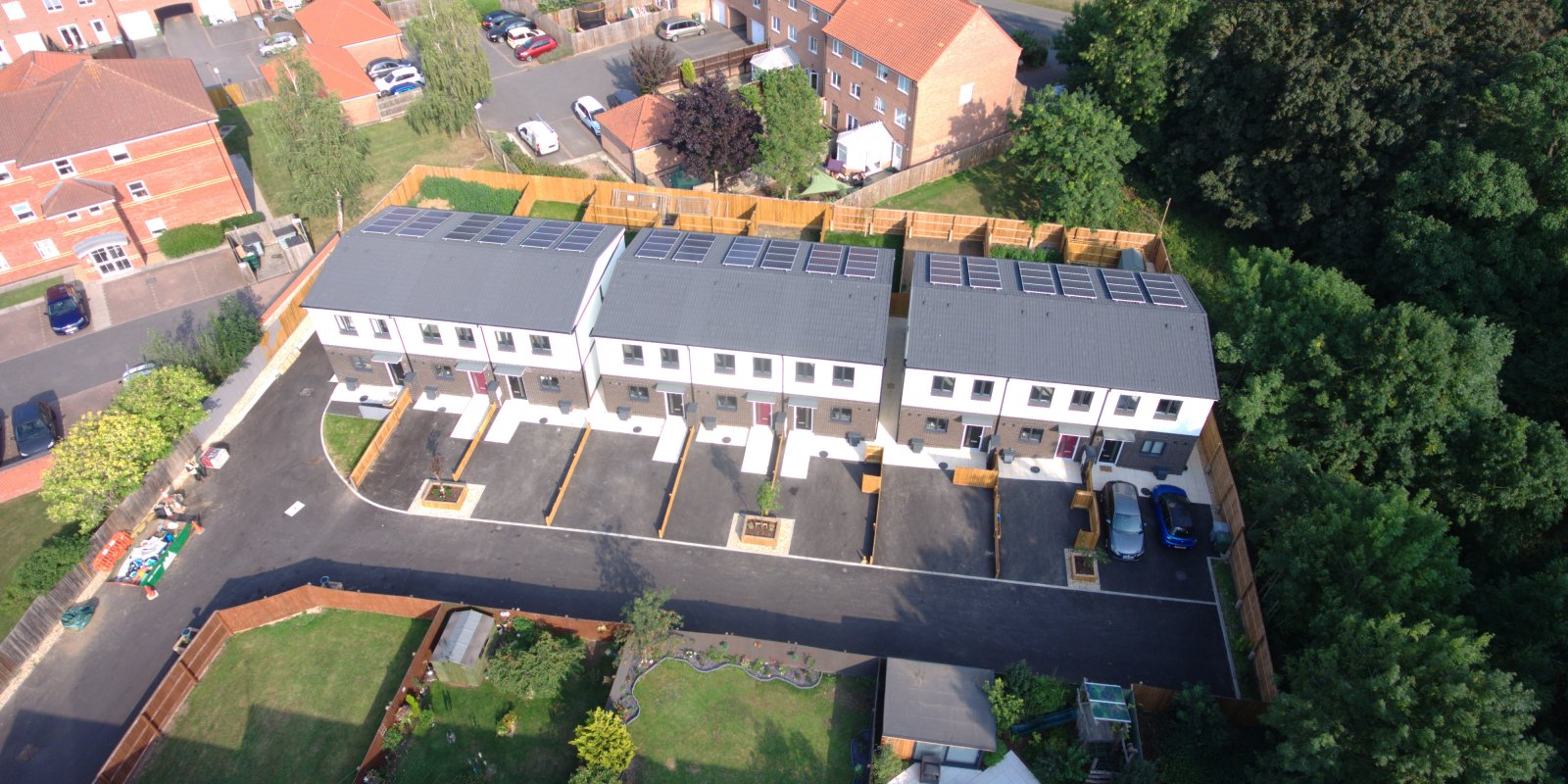 'A' rated super-low energy 3-bed homes - SOLD OUT!